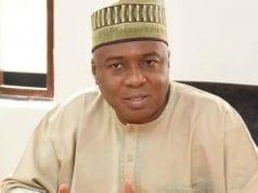 Nigeria's Senate President, Dr. Abubakar Bukola Saraki