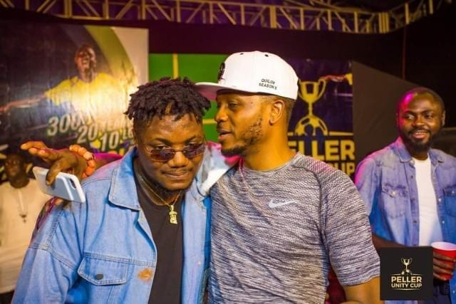 Shina Peller and CDQ at the Peller Unity Cup 2017 Grand Finale