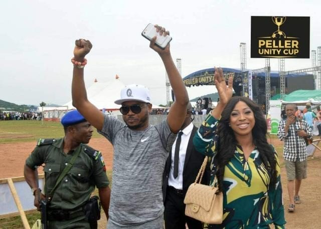 Shina Peller and Wife at the Peller Unity Cup 2017 Grand Finale