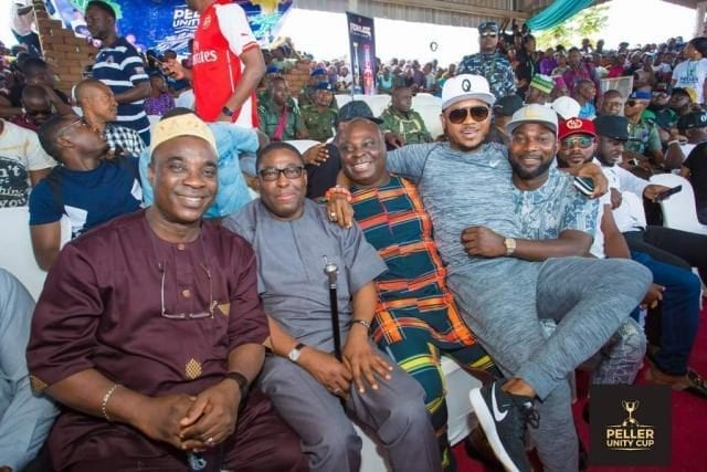 KWAM1/K1, Shina Peller and Others at the Peller Unity Cup 2017 Grand Finale