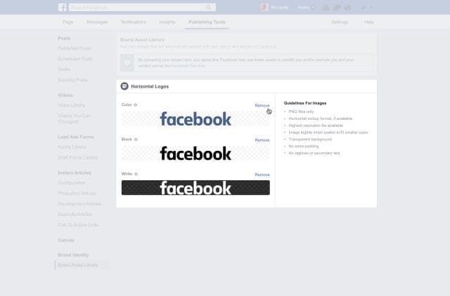 Showing Publisher Logos in Trending and Search on Facebook