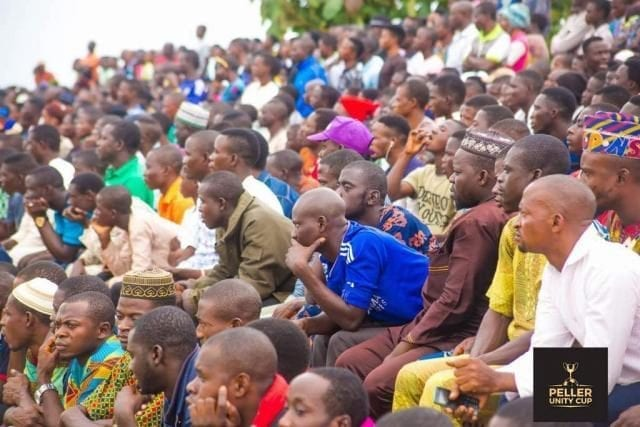 Spectators at the Peller Unity Cup 2017 Grand Finale