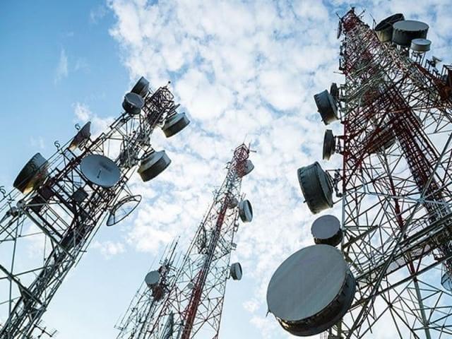 Telecom Site with Masts