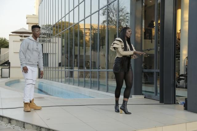Emtee with Nigerian Superstar Tiwa Savage