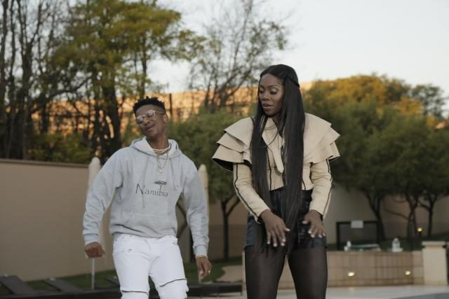 Emtee with Nigerian Superstar Tiwa Savage