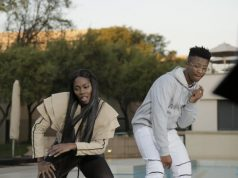 Nigerian Superstar Tiwa Savage with Emtee