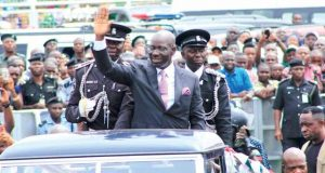 Governor Godwin Obaseki of Edo State on Parade