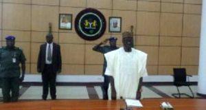 Kwara State governor Alhaji Abdulfatah Ahmed