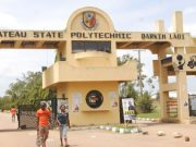 Main Gate (Entrance) of Plateau State Polytechnic, Barkin Ladi