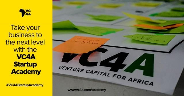 Venture Capital for Africa (VC4A) Startup Academy