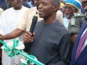 Vice President, Prof. Yemi Osinbajo commisions 60,000 Metric Tonnes Fertilizer Plant in Edo State
