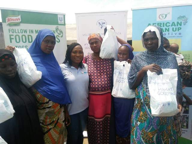 WBFA Mamacare Program partners Africa Clean Up Initiative