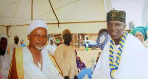 The Chief Imam of Ogere Alhaji Musbaudeen Salako congratulates Hon Sunday Solarin