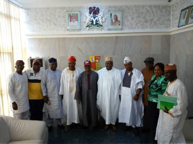 Alhaji Abubakar Nadanako, Mrs Omotayo Aribatise, Chief Moses Adeyemo, Hon Olatoye Sugar, Hon Ladi Adebutu, Oyo State Governor Abiola Ajimobi and others