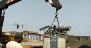 Buruji Kashamu donates new 500KVA Transformer to Egbe Community