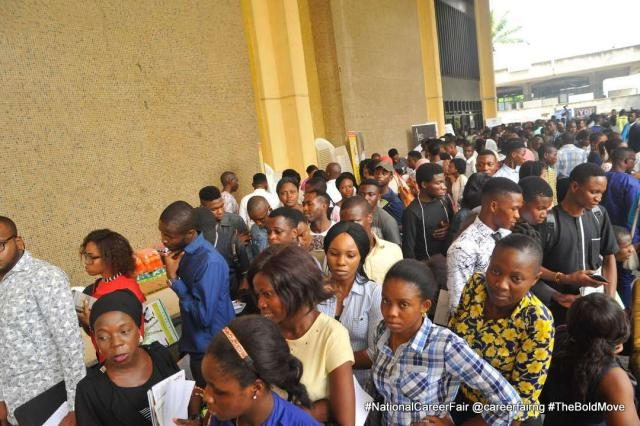 Cross-section of Participants and Jobseekers at the 2017 National Career Fair