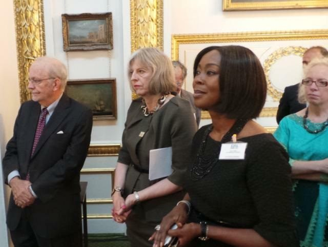 Founder-President of the WBFA, H.E Mrs Toyin Ojora Saraki and other Partcipants at the first Girl Summit 2014 in the UK - GED