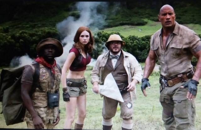 JUMANJI - Lights up Cinemas across the Nation