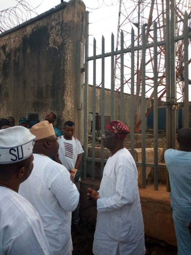 Mr Emmanuel Jonathan explains the issues with the facilities at Isara Remo, Ogun State
