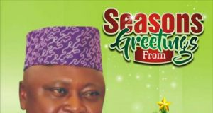 Seasons Greetings from Hon Oladipupo Adebutu