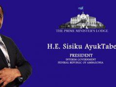 H.E. Sisiku Ayuk Tabe, President of The Federal Republic of Ambazonia