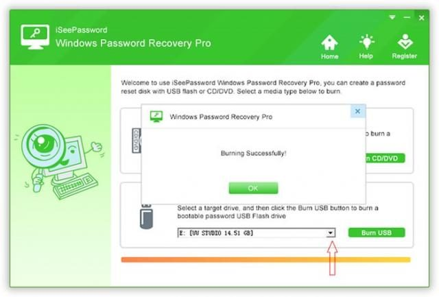 iSeePassword Windows Recovery Pro