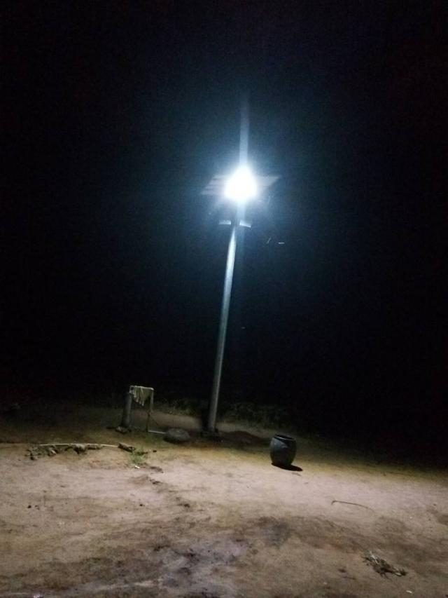 Constituency Project - Solar-powered Street Lights in Ogun-Waterside, Ogun State, Nigeria