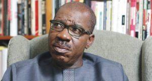 Edo State Governor,MrGodwin Obaseki