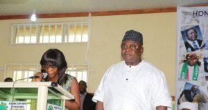 Ladi Adebutu's Agenda for Ogun People - Hon Ladi stands for his citation...pledges a prosperous future for Ogun State
