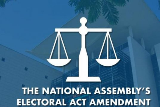 National Assembly's Amendment to the Nigeria's Electoral Act