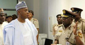 Nigeria's Senate President Bukola Saraki tasks Immigration Boss on Availability of Passport Booklets