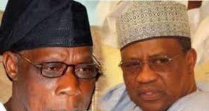 Olusegun Obasanjo and Ibrahim Babangida