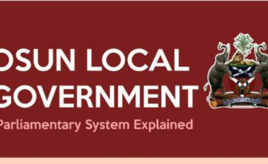 Osun Local Government Parliamentary System