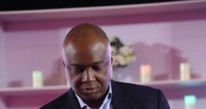 Senator Bukola Saraki at the Night of Tribute and Songs organized in honour of the late statesman, Dr Alex Ekwueme