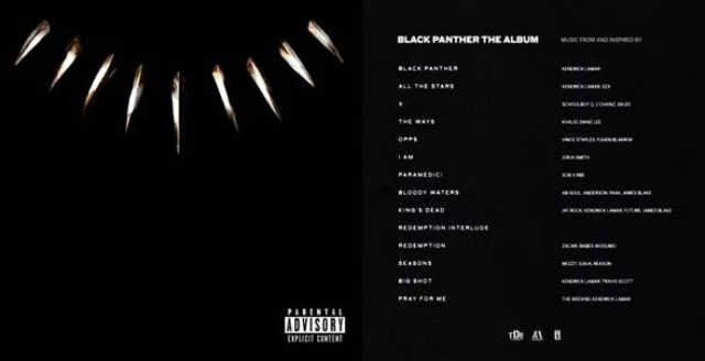 Kendrick Lamar's Black Panther Soundtrack