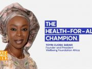 Devex named Toyin Ojora-Saraki the Health-for-All Champion