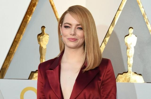 Emma Stone at 90th Oscars Annual Academy Awards