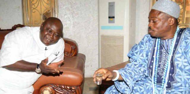 Hon Ladi Adebutu receives royal blessings from HRM Oba Samuel Oladipupo Onifo of Ifo