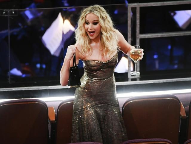 Jennifer Lawrence at 90th Oscars Annual Academy Awards