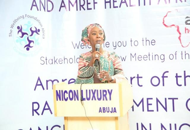 Founder and President of Wellbeing Foundation Africa, H.E Mrs Toyin Saraki