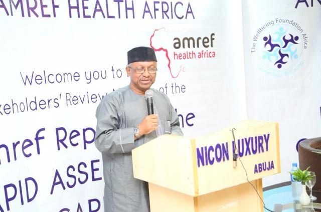 Minister of State for HEalth, Dr Osagie Ohanire