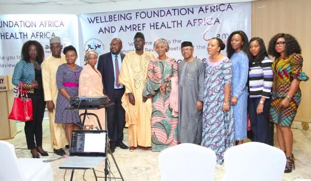 Stakeholders at the Review Meeting on Cancer Assessment Report in Nigeria