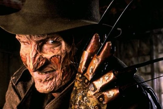 Freddy Krueger in the Nightmare on Elm Street