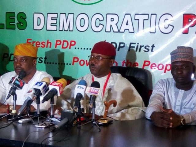 New PDP Faction Representatives