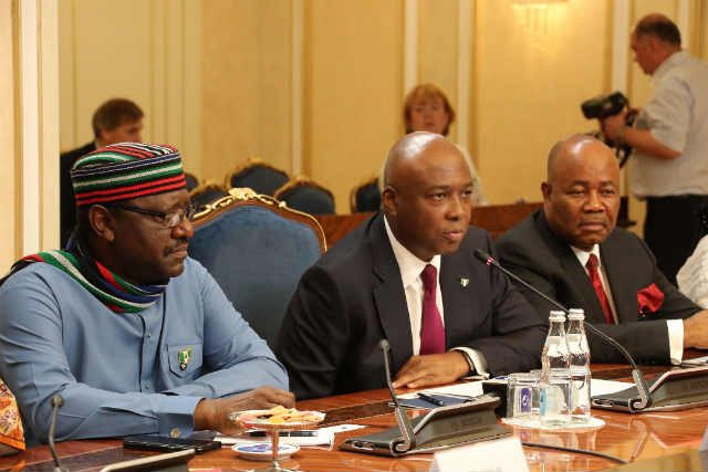 Senator Bukola Saraki meeting with the Russian Parliament's Upper Chamber Leaders 3