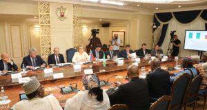 Senator Bukola Saraki meeting with the Russian Parliament's Upper Chamber Leaders 4