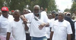 Ekiti State Governor, Mr Ayodele Fayose survives Assisination Attempt