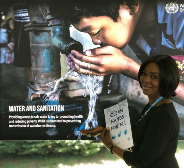 H.E. Mrs Toyin Saraki canvasses for Water, Sanitation and Hygiene (WASH) standards in healthcare facilities, schools and communities.