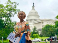 H.E. Mrs Toyin Saraki at the US Congress