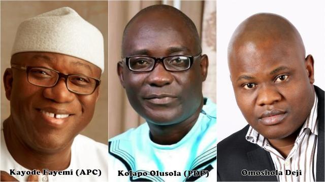 Kayode Fayode and Kolapo Olusola with Omoshola Deji